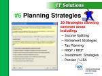 6 planning strategies