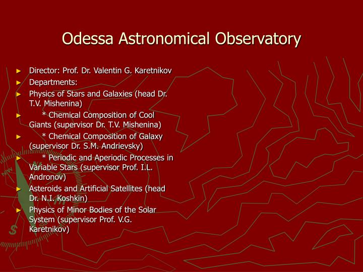 Odessa Astronomical Observatory