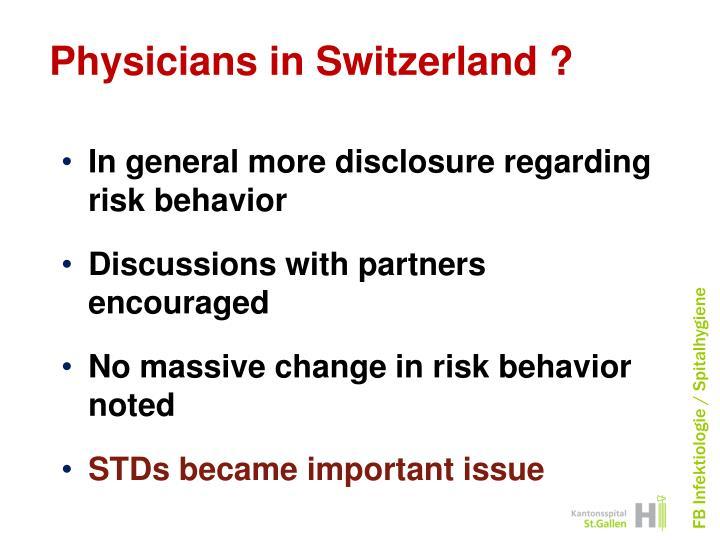 Physicians in Switzerland ?