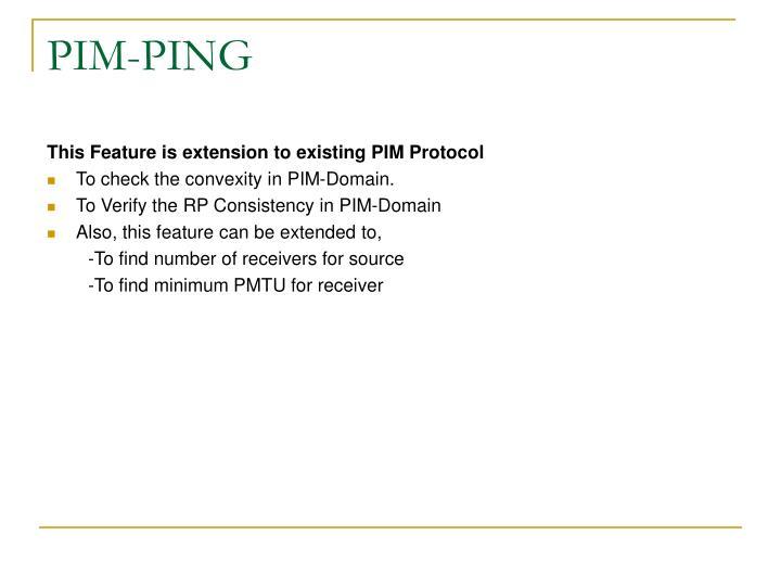 PIM-PING