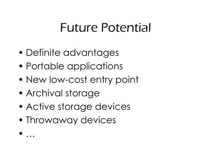 Future Potential