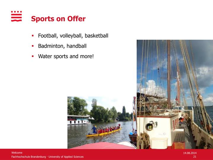 Sports on Offer