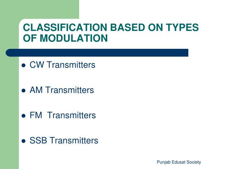 CW Transmitters
