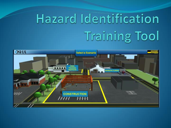 Hazard Identification Training Tool