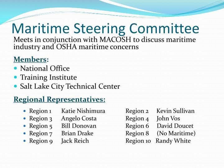 Maritime Steering Committee
