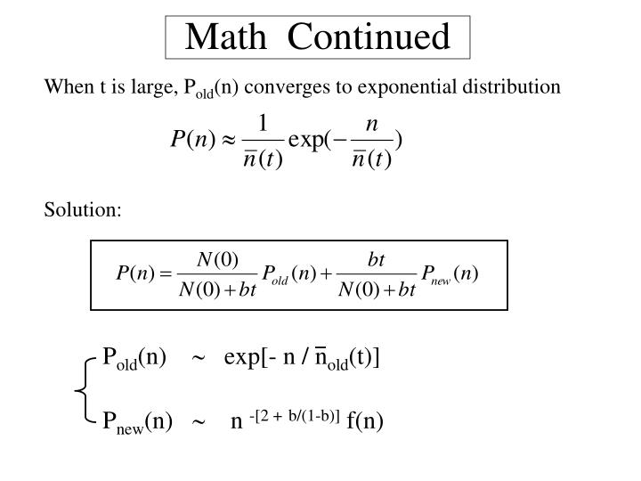 Math  Continued