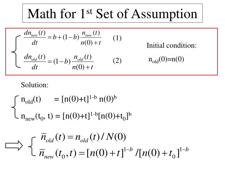 Math for 1