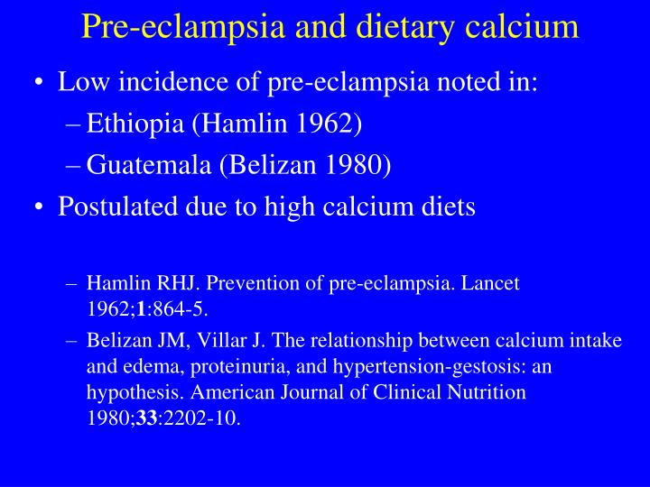 Low incidence of pre-eclampsia noted in: