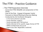 the ftm practice guidance10
