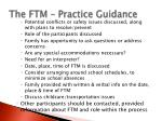 the ftm practice guidance11