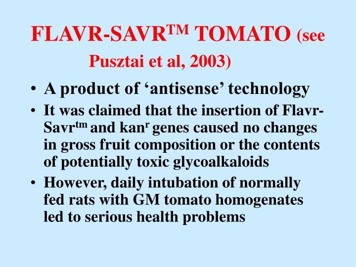 FLAVR-SAVR