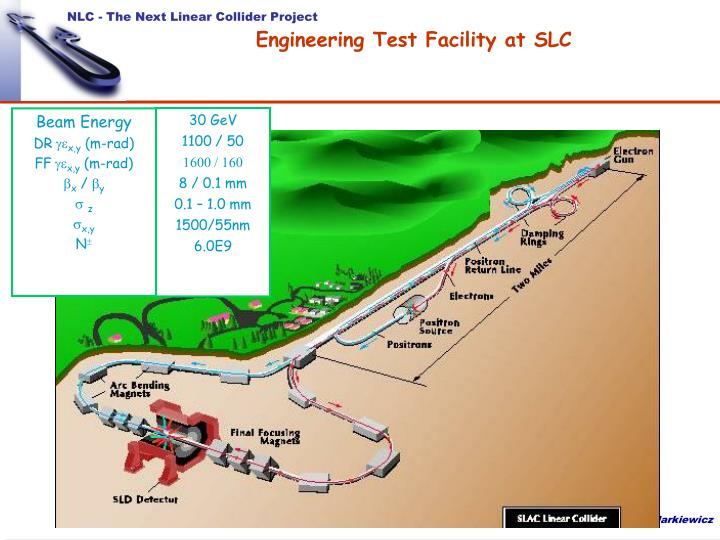 Engineering Test Facility at SLC