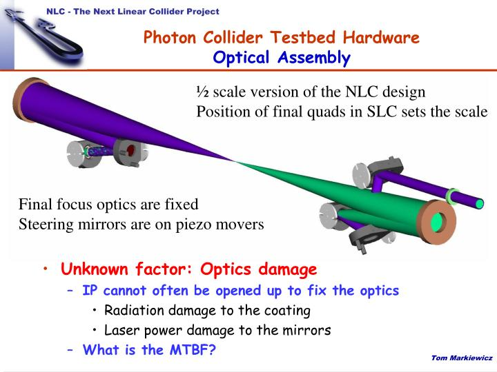 Photon Collider Testbed Hardware