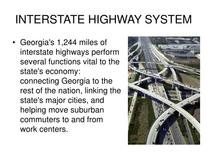 INTERSTATE HIGHWAY SYSTEM