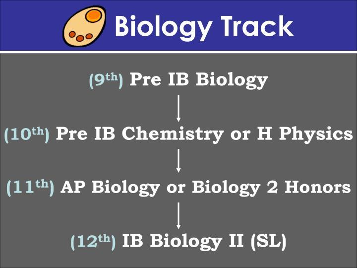 Biology Track