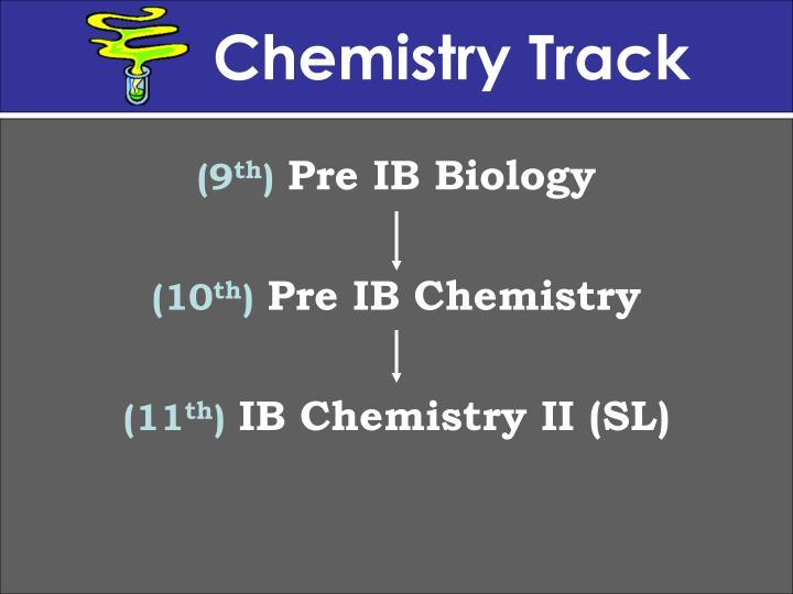 Chemistry Track