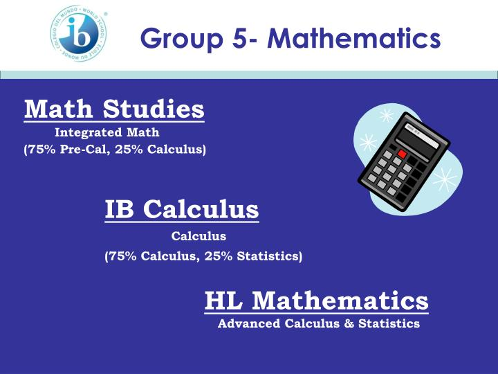 Group 5- Mathematics