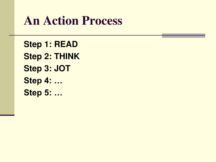 An Action Process