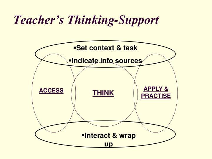 Set context & task