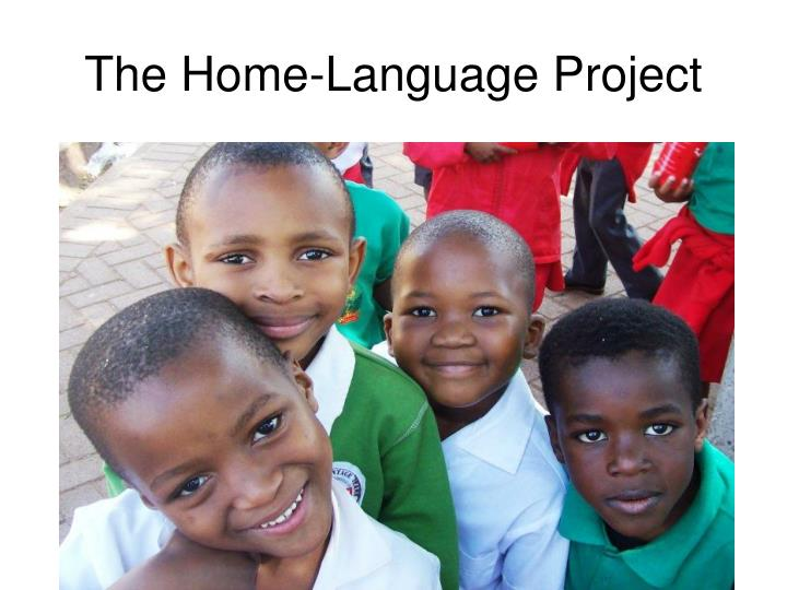 The home language project
