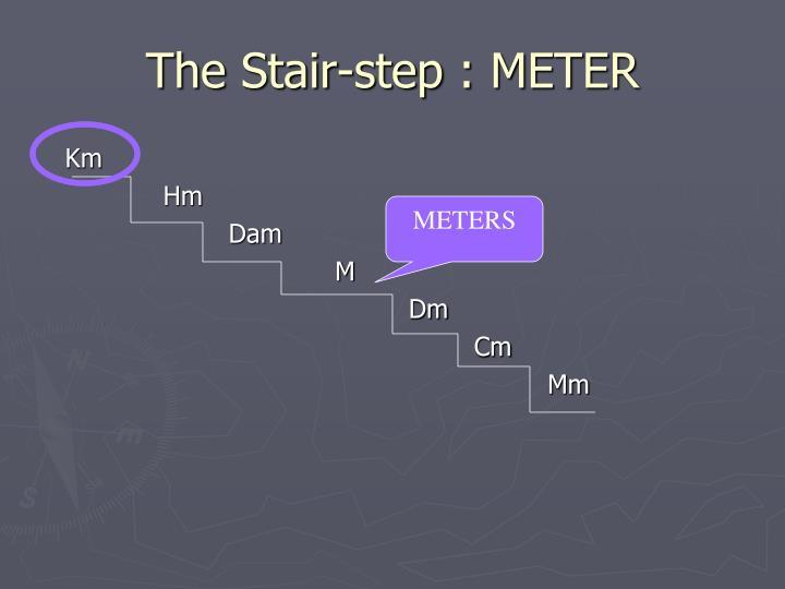 The Stair-step : METER