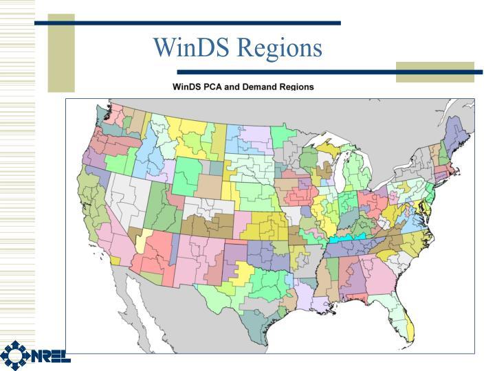 WinDS Regions