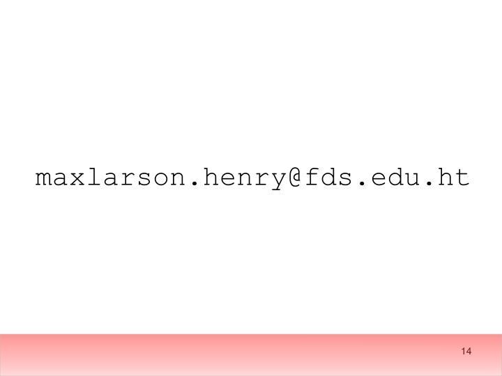 maxlarson.henry@fds.edu.ht