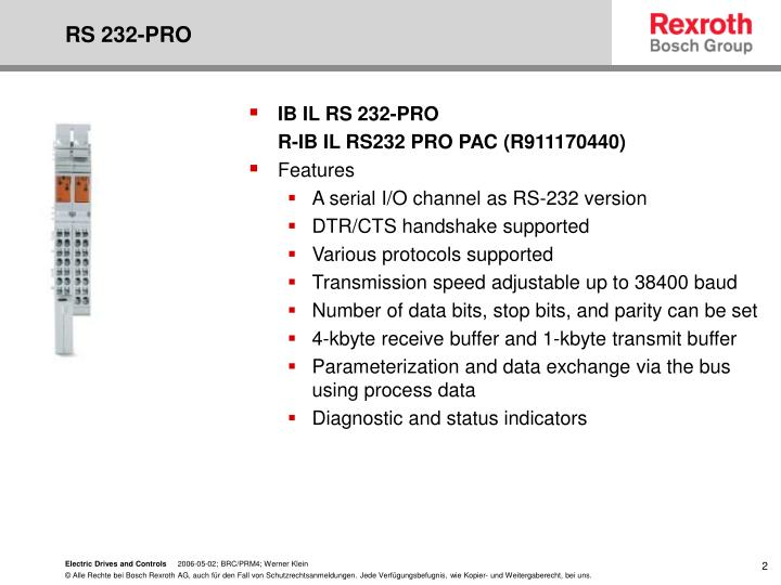 RS 232-PRO