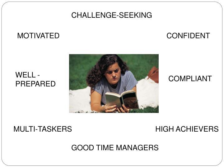 CHALLENGE-SEEKING