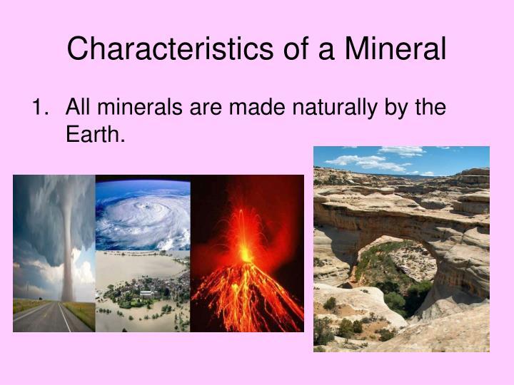 PPT - Minerals!!!! PowerPoint Presentation