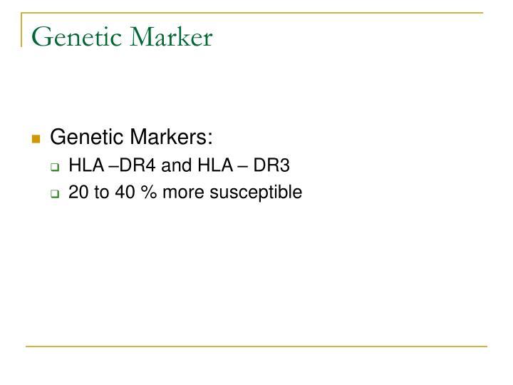 Genetic Marker