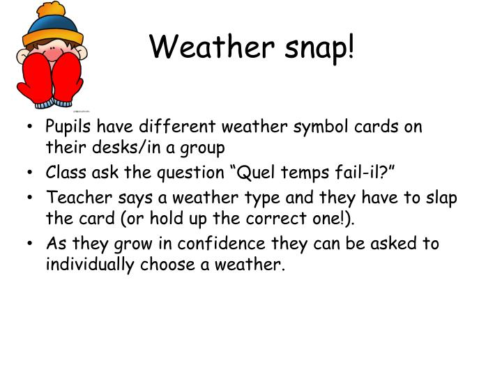 Weather snap!