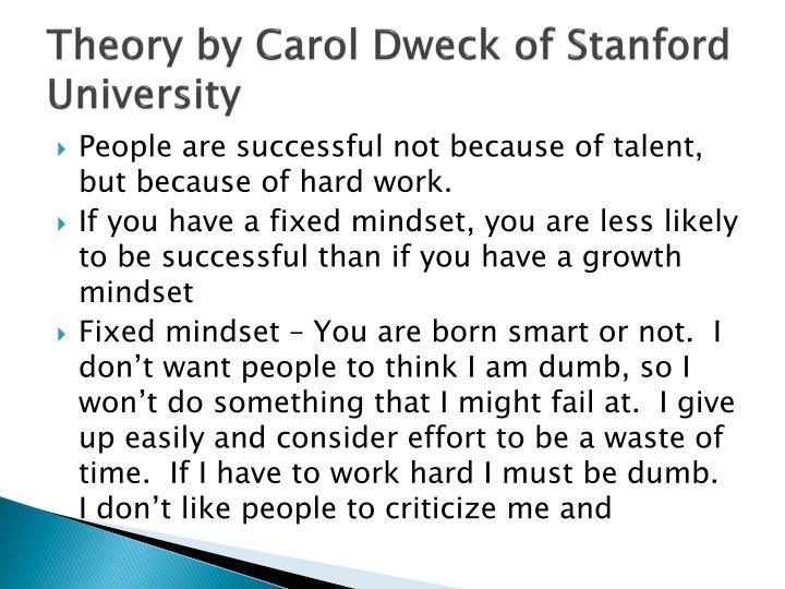 Theory by Carol