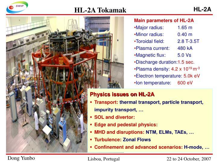 HL-2A Tokamak