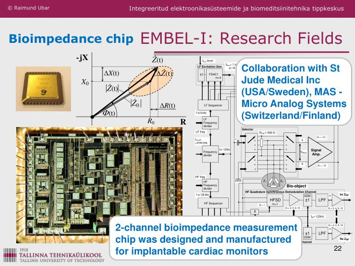 Bioimpedance chip