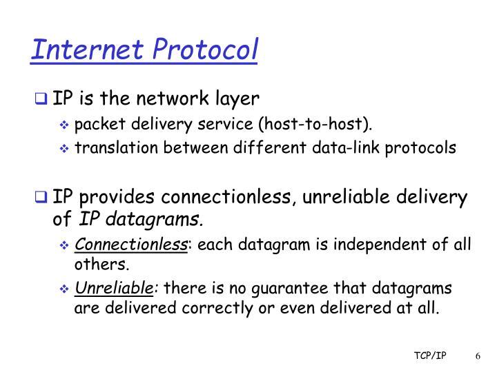 Internet Protocol