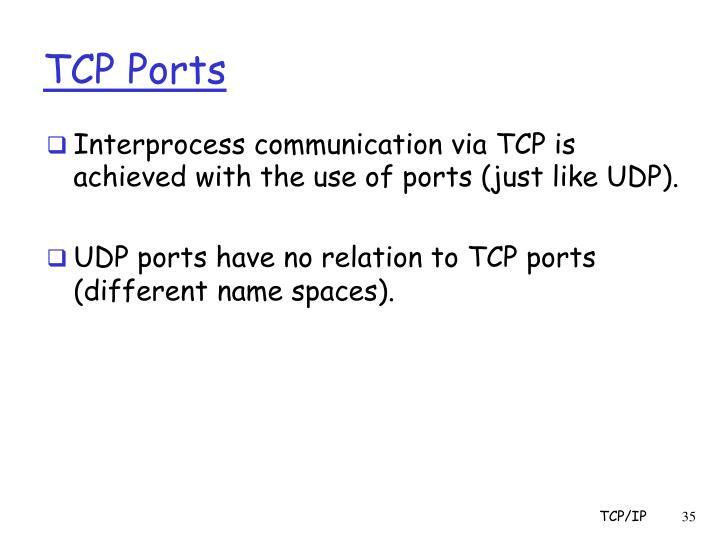 TCP Ports
