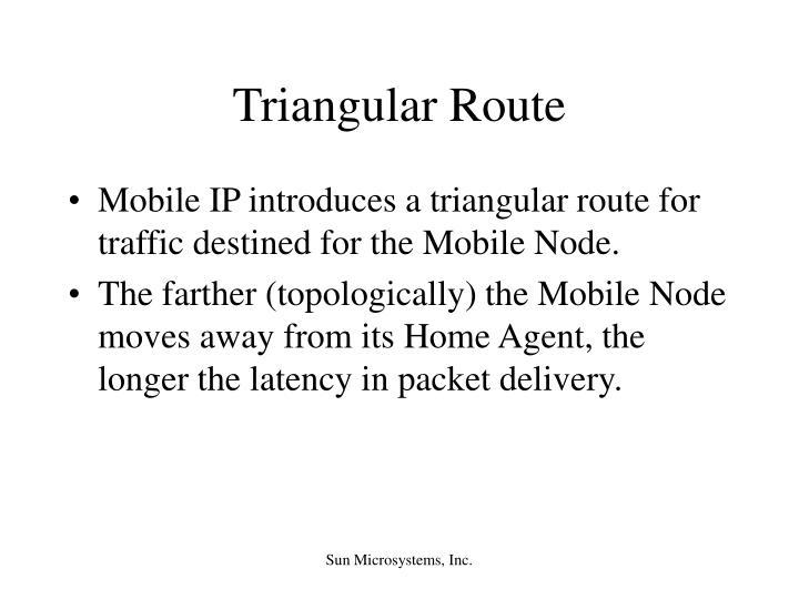 Triangular Route