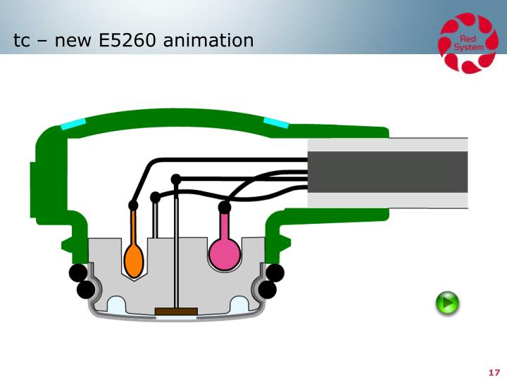 tc – new E5260 animation