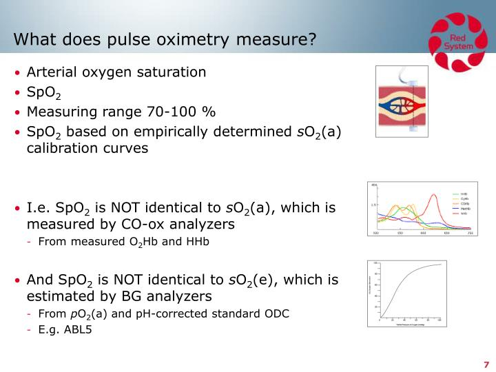 What does pulse oximetry measure?