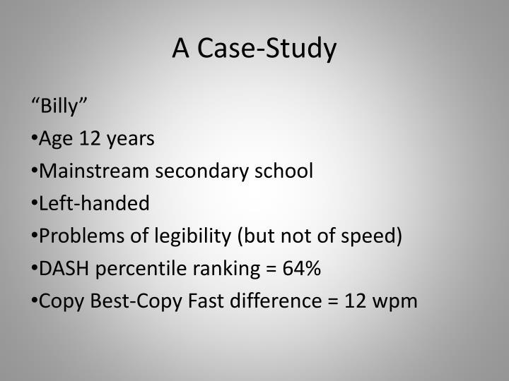 A Case-Study