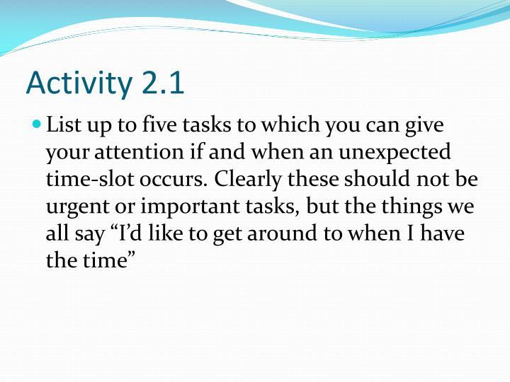 Activity 2.1