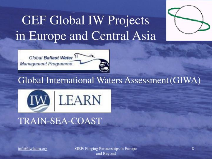 GEF Global IW Projects