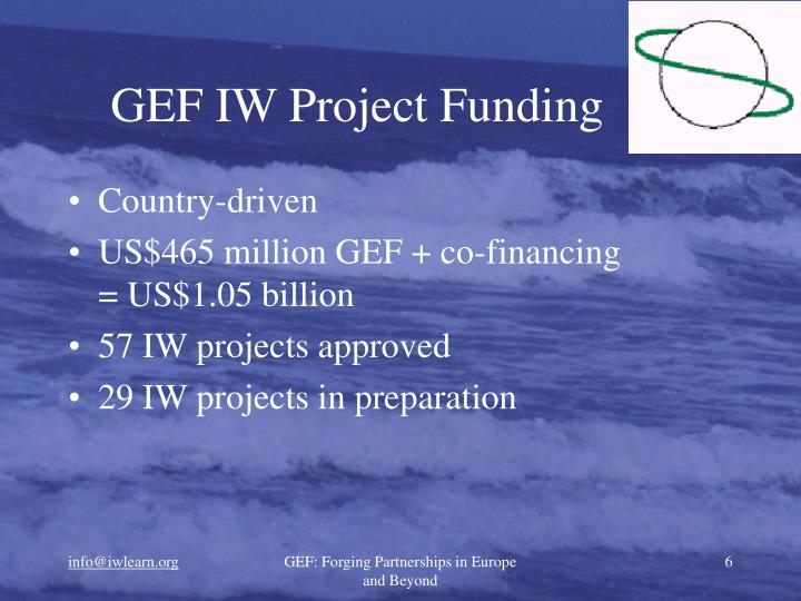 GEF IW Project Funding