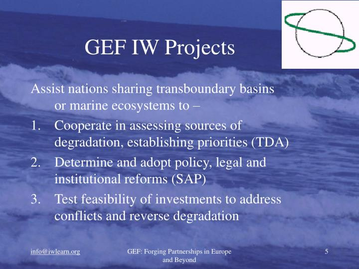 GEF IW Projects