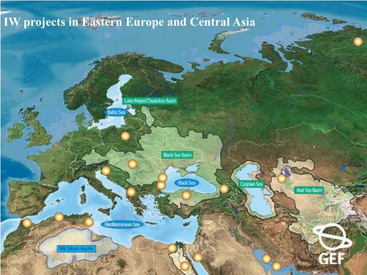 IW projects in Eastern Europe and Central Asia