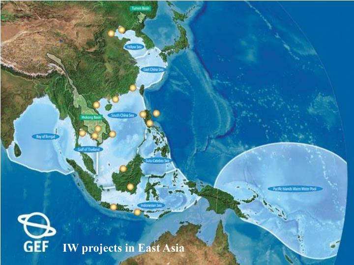 IW projects in East Asia