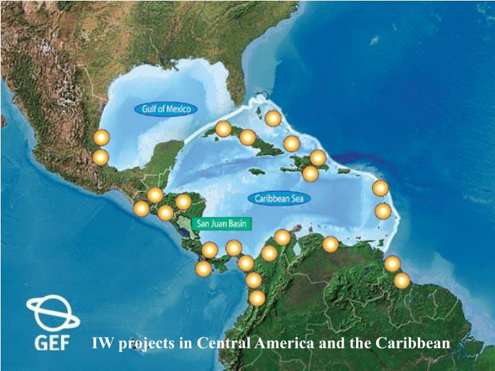 IW projects in Central America and the Caribbean