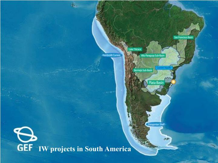 IW projects in South America