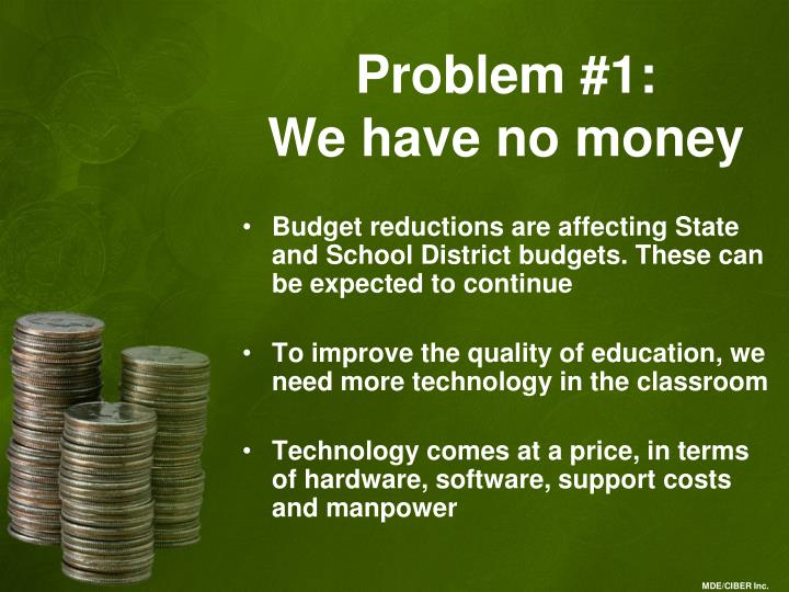 Problem #1: